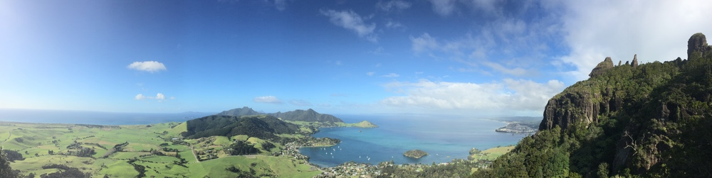 Looking out on the Whangarei Heads
