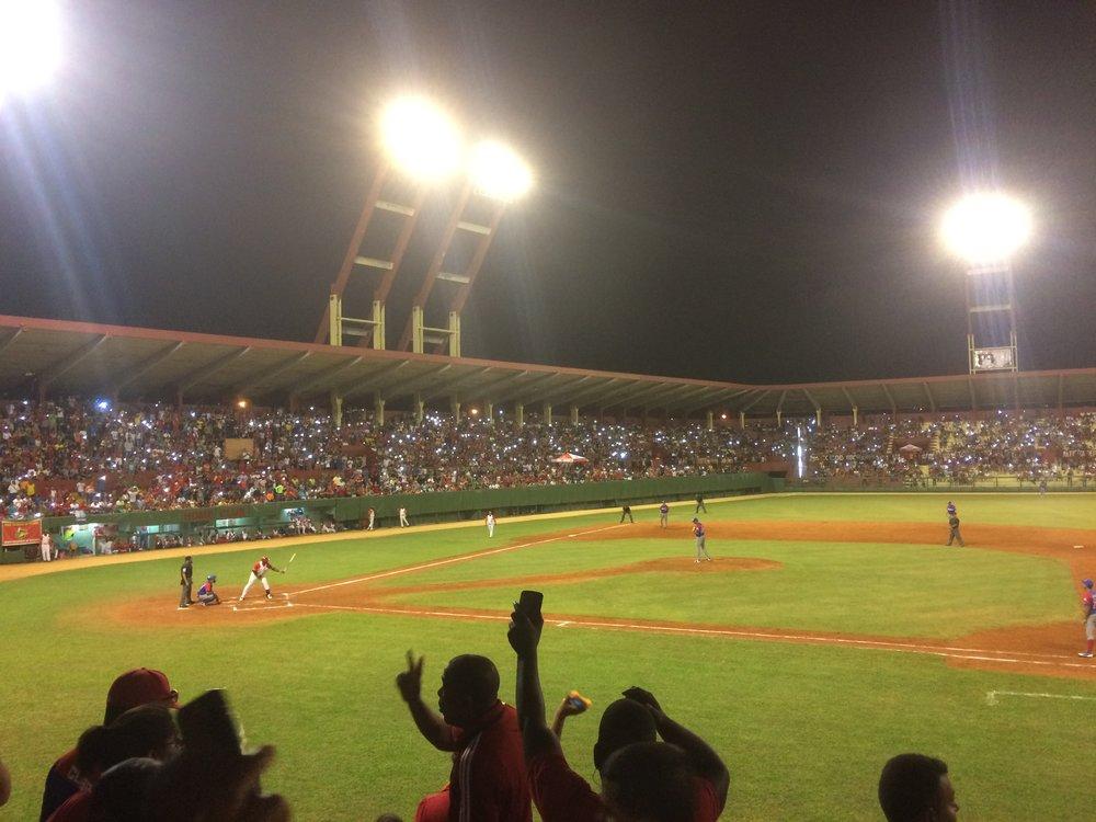 Playoff Baseball in Matanzas