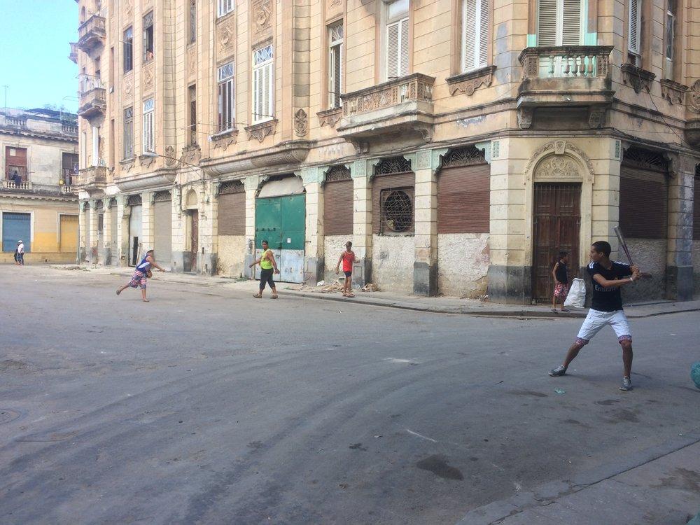 Streetball in Havana