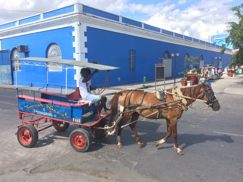 Transport in Cienfuegos
