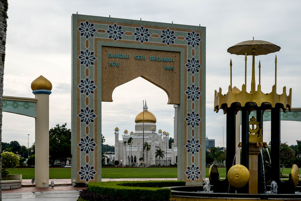 Bandar Seri Begawan - capital of Brunei
