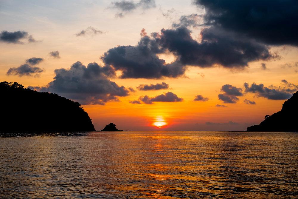 Sunset at Rok Nok