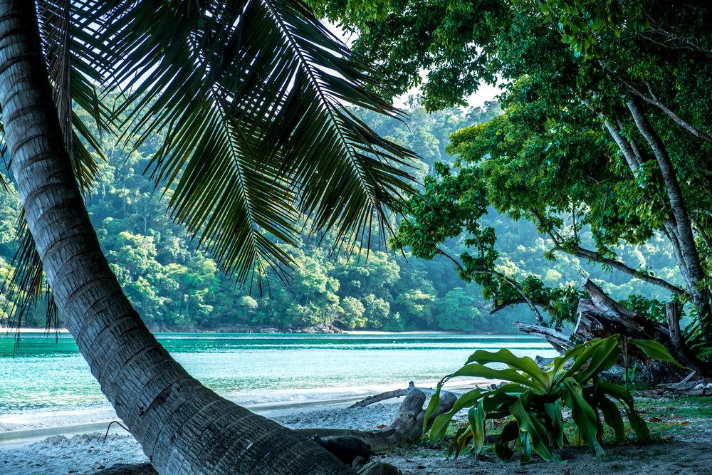 Secluded paradise on Rok Nok, Thailand