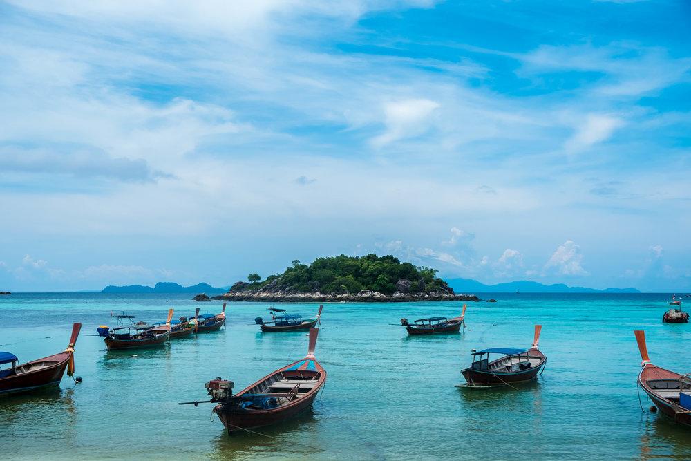 Shore of Koh Lipe, last stop before Malaysia