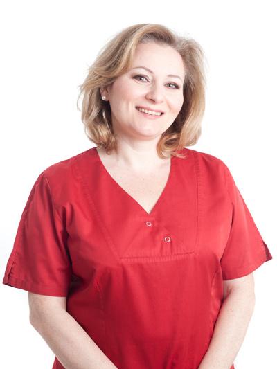 Maryna Shafran, zahnmedizinische Fachangestellte