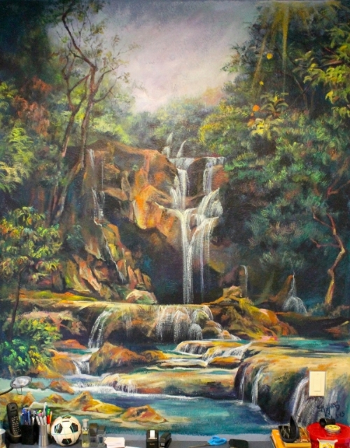 Waterfall, Commission 2012