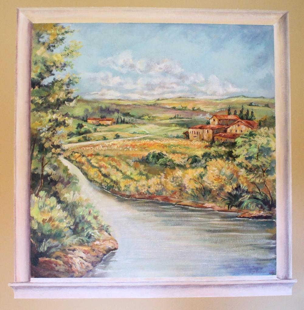 Tuscan Landscape, Commission 2015