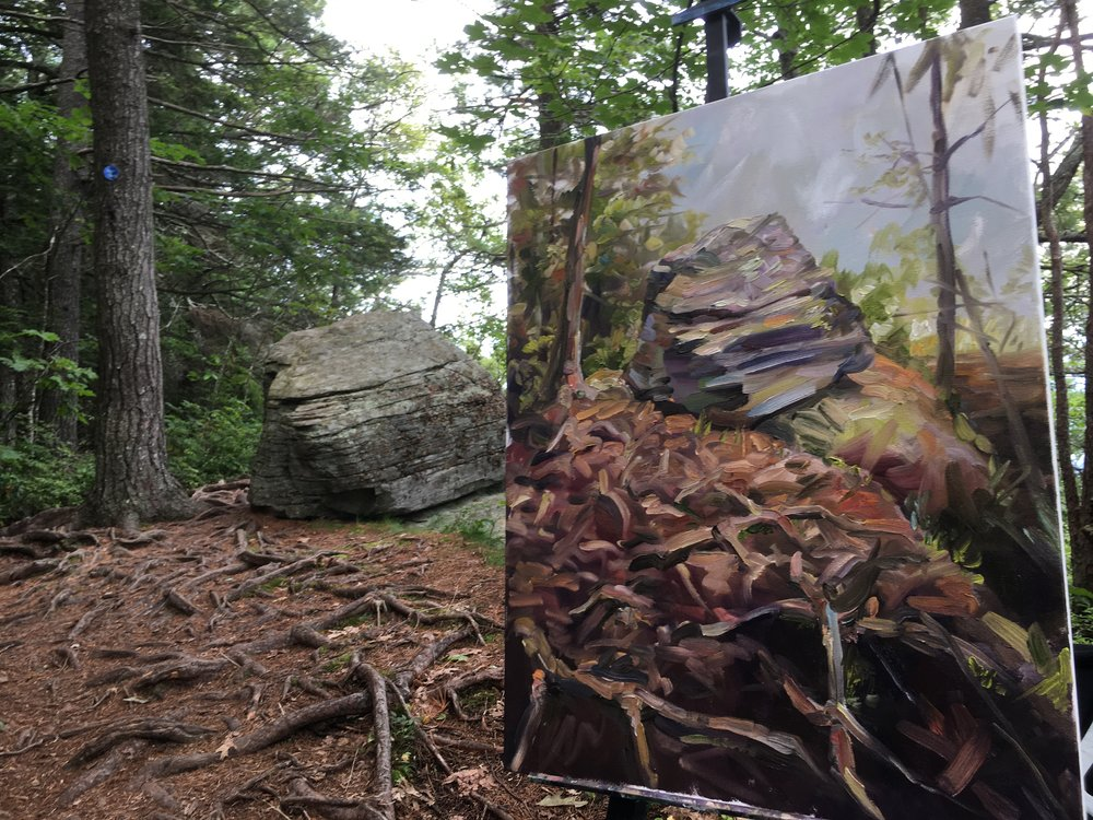 Artists' Rock, Catskills
