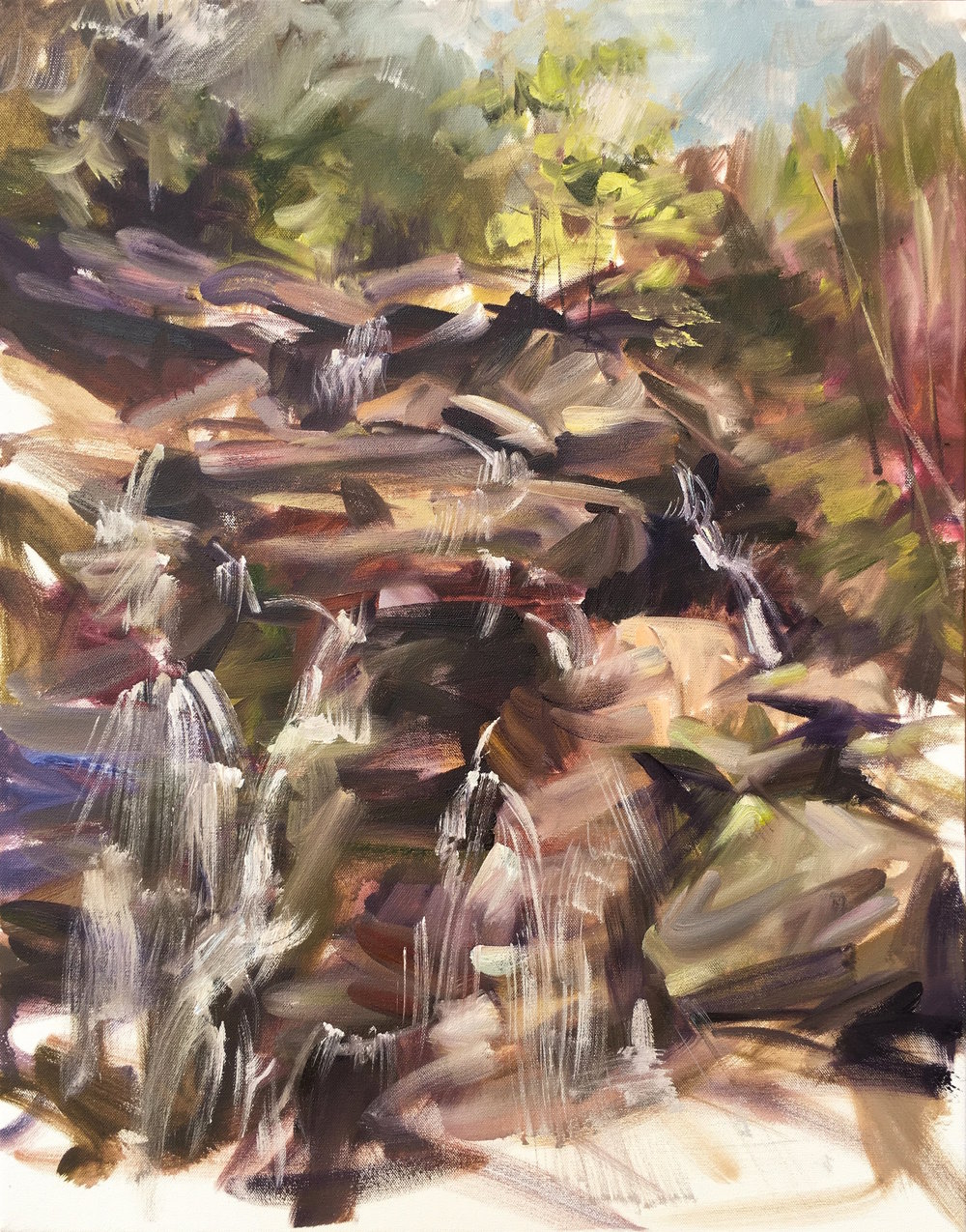 Base of Kaaterskill Falls, Catskills
