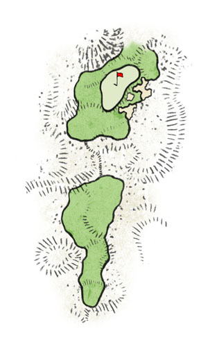 """Dalu Dunes - Hole #5 """"Punchbowl"""""""