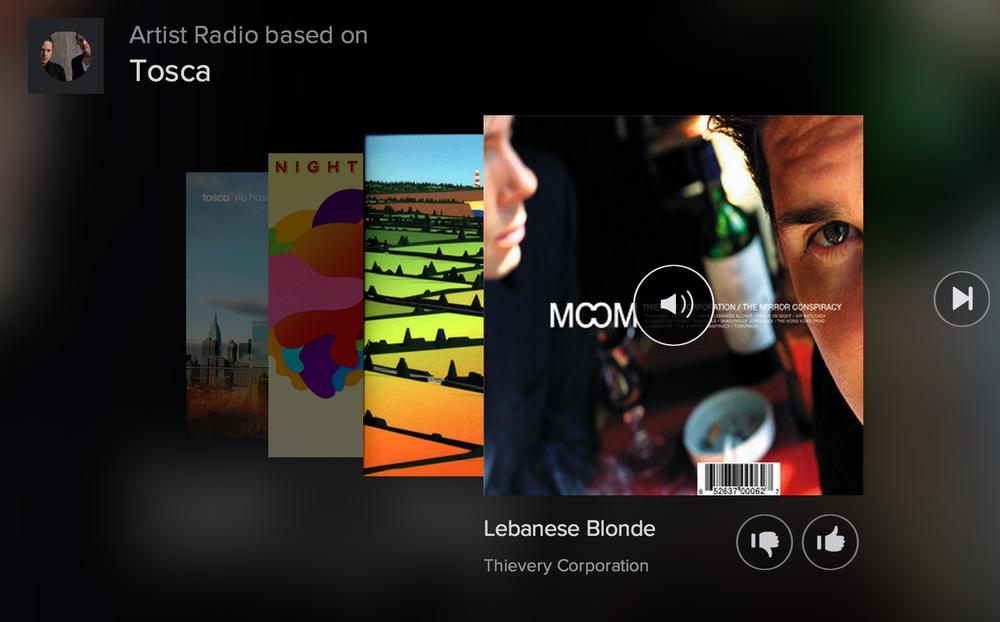Tosca artist radio - Spotify