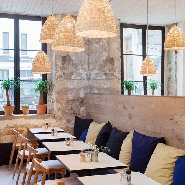 Café Marlette à Poissonnière #ilederé #pierre #modern #instaarchitecture #instainteriordesign #instadecoration #atelieruoa #interiordesign #paris #architecture #design #architects #kitchen #project