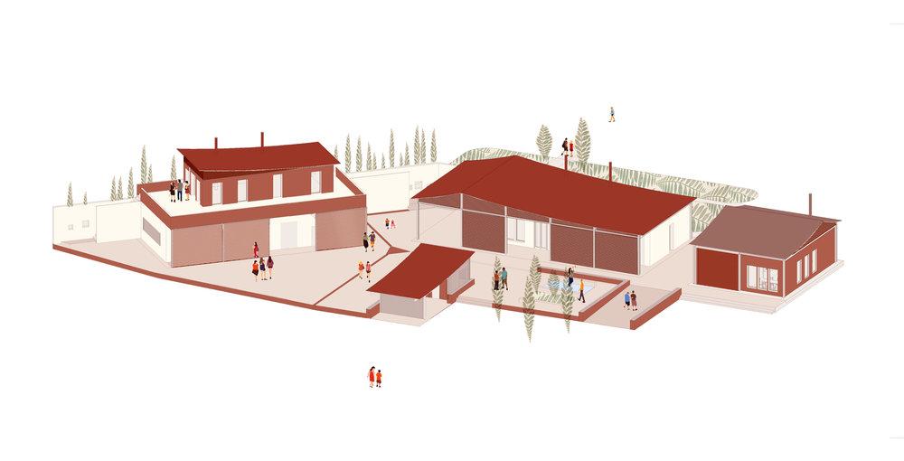 26/02/2019 - DÉPÔT PERMIS DE CONSTRUIRE - FORESTA    En partenariat avec  Yes We Camp   Plus d'info : http://parcforesta.org/