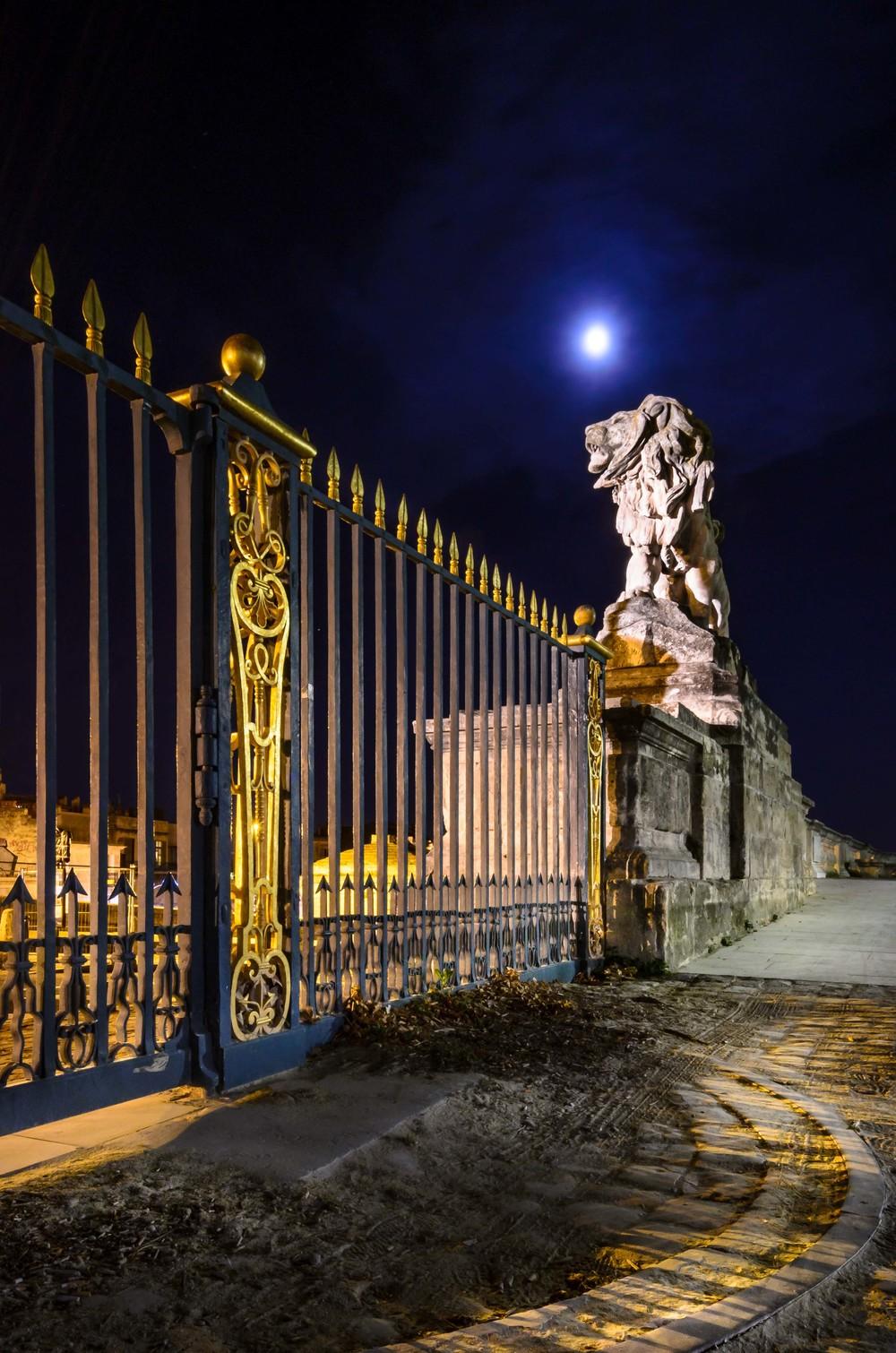 Lion de la promenade du Peyrou, Montpellier