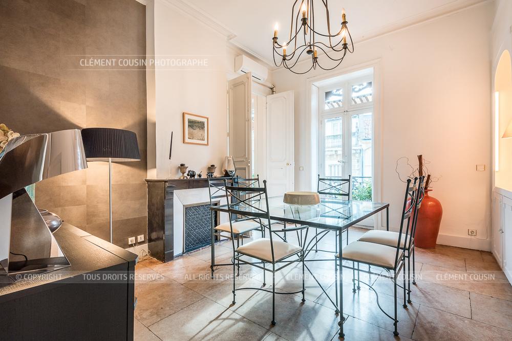 Shooting immobilier appartement bourgeois pr s de la for Cuisine 728 montpellier