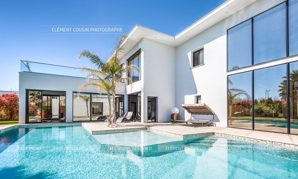 Shooting Immobilier Villa Moderne Luxueuse Agde