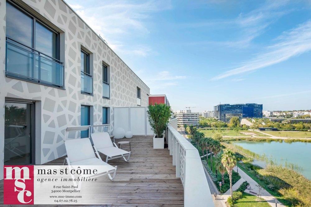 shooting immobilier programme neuf l 39 alhambra ensemble la mantilla montpellier port. Black Bedroom Furniture Sets. Home Design Ideas