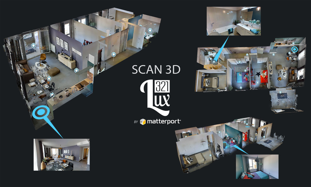 scan 3d appartement montpellier