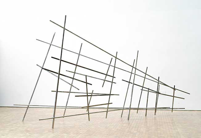 A View From Somewhere Steel, 2013 215 x 405 x 105 cm