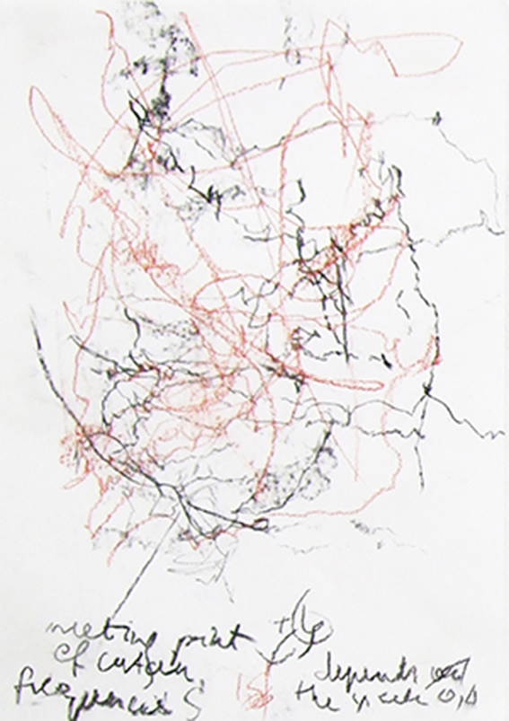 Sapir-Whorf Spot Check  Charcoal, Graphite and Crayon on Paper   85 × 60 cm, 2012