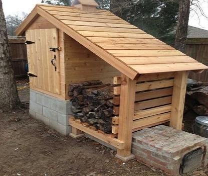 Construire votre fumoir maison ferme la machine for Fumoir artisanal en bois