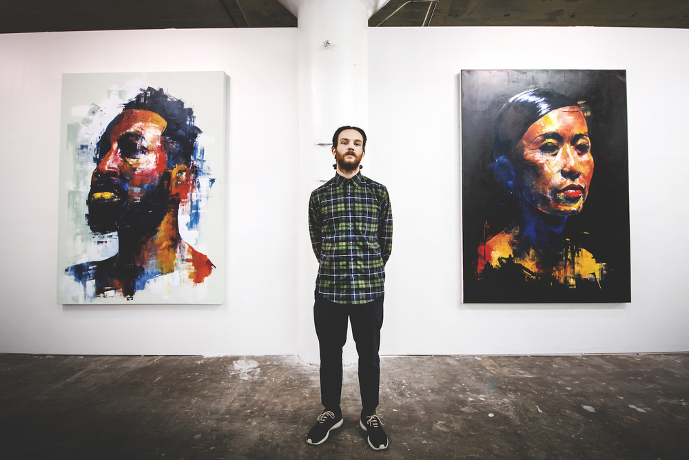 Photos   Kevin Spring: Affinity   Debut Solo Art Show   View Gallery