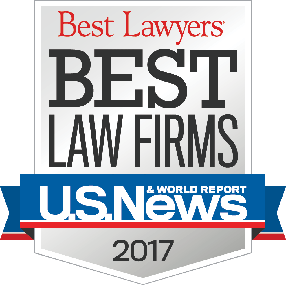 US News & World Report- Best Lawyers: Best Law Firms 2015