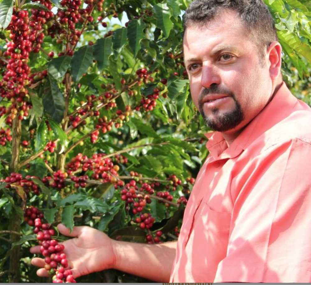 - João Hamilton is one of the many farmers who partner with Fazenda Ambiental Fortaleza. On his small farm, he uses no pesticides, minimizes the use of artificial fertilizer, and uses natural ground cover and native reforestation to preserve the quality of the soil.