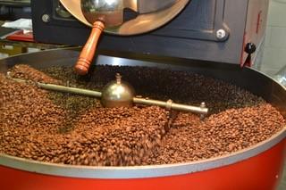 Roasting Machine American Bulldog Coffee Roasters locally roasted beans.jpg