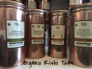 Organic Rishi Teas Copper Canisters American Bulldog Coffee Roasters.jpg
