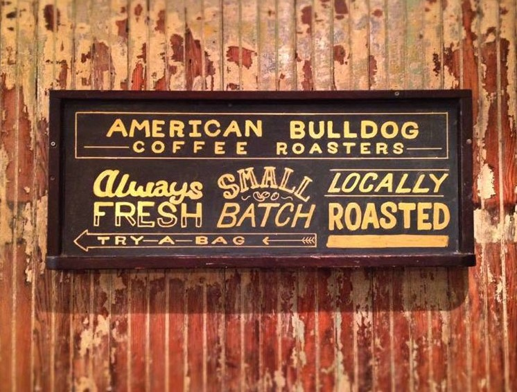 American Bulldog Coffee Roasters Try a Bag sign small batch locally roasted (2).jpg