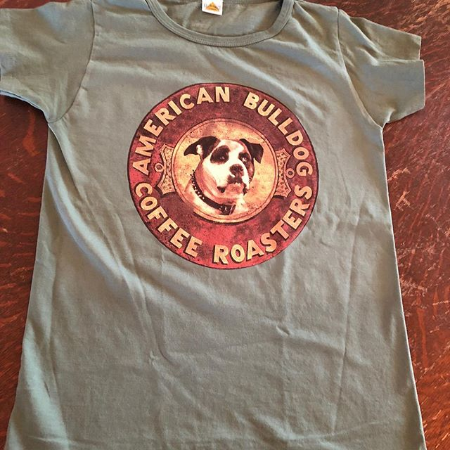 T-Shirts have arrived in cafes tomorrow for the holidays!!! American Made  all sizes XS-XL.  #t-shirts #madeinamerica🇺🇸 #followthebulldog #localcoffeeroasters #madeinlosangeles #localcoffeeshops #milatarygreen #ridgewoodnj #chestnutridgeny #comingsoontoramseynj