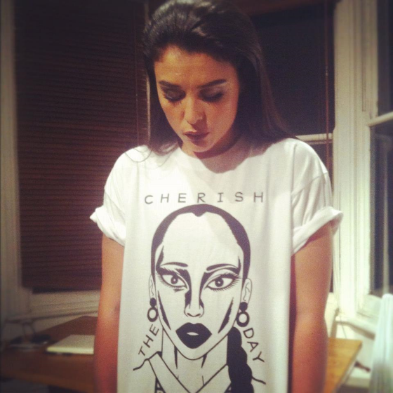 The Sade t-shirt is now available to buy online.