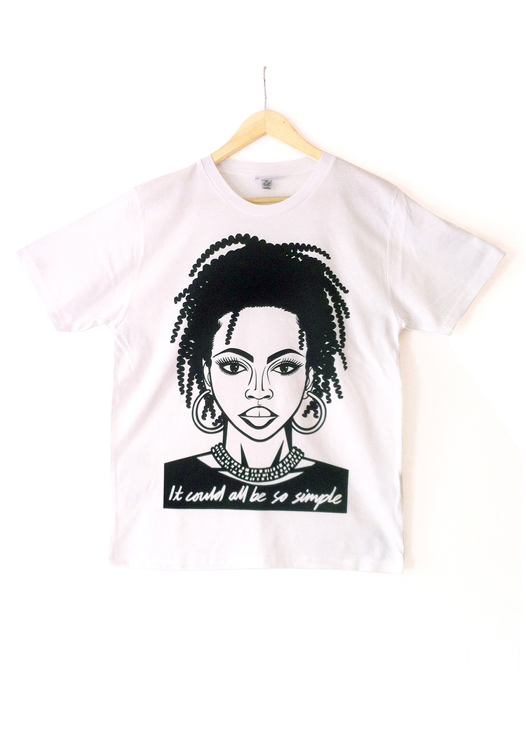 836062f4 LAURYN HILL 'IT COULD ALL BE SO SIMPLE' TEE — Ted's Draws