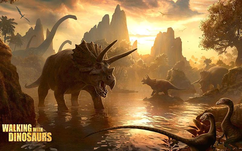 Les dinosaures dominent la planète durant plus de 160 millions d'années