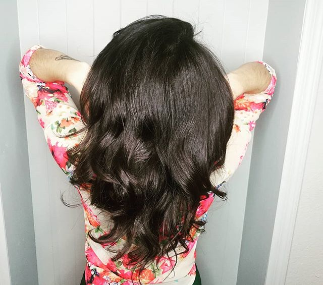What are your hair goals??? For me it's always been luscious silky hair. I haven't always loved my hair, but through my journey as a hairdresser, it has taught me how to care for my hair. My love for hair and styling is something I want to share with all of you! Because everyone deserves to love their hair!  The most common feeling with hair is we always want what we don't have. If we have straight sleek hair, we want full bouncey curls. If we have wavy curly hair, we want smooth silky styles. I've been their too!  But what if we could love our hair!?!? Embrace it for what it is and learn to achieve beautiful styles on our uniquely beautiful hair!  That's my focus everytime someone sits in my chair, to have a conversation about your wants and desires and help you achieve what's possible for you. And show you that you can love your hair for everything that it is and can be!