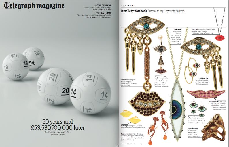 Telegraph Magazine November 2014