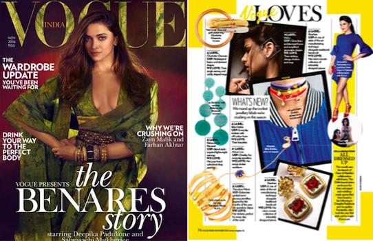 Vogue India November 2016