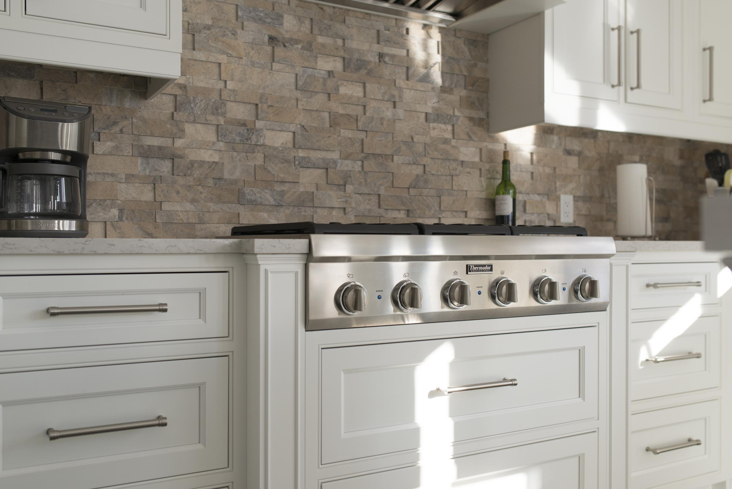 Custom White Kitchen Kitchens  Bliss Home Innovations