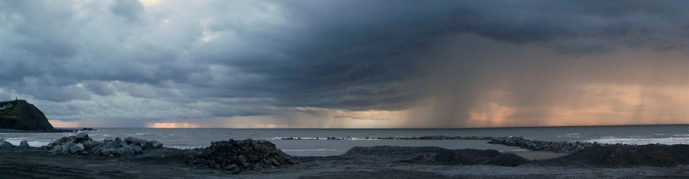 Convective storms over Borth (Wales) during the first TROSIAD field campaign on 17 September 2011.
