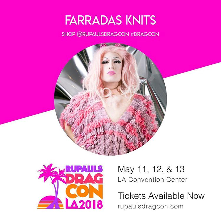 We are so excited to be a part of this year's RuPaul's Drag Con in Los Angeles !