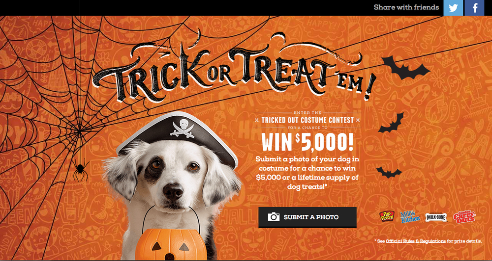 Trick or Treat 'Em website