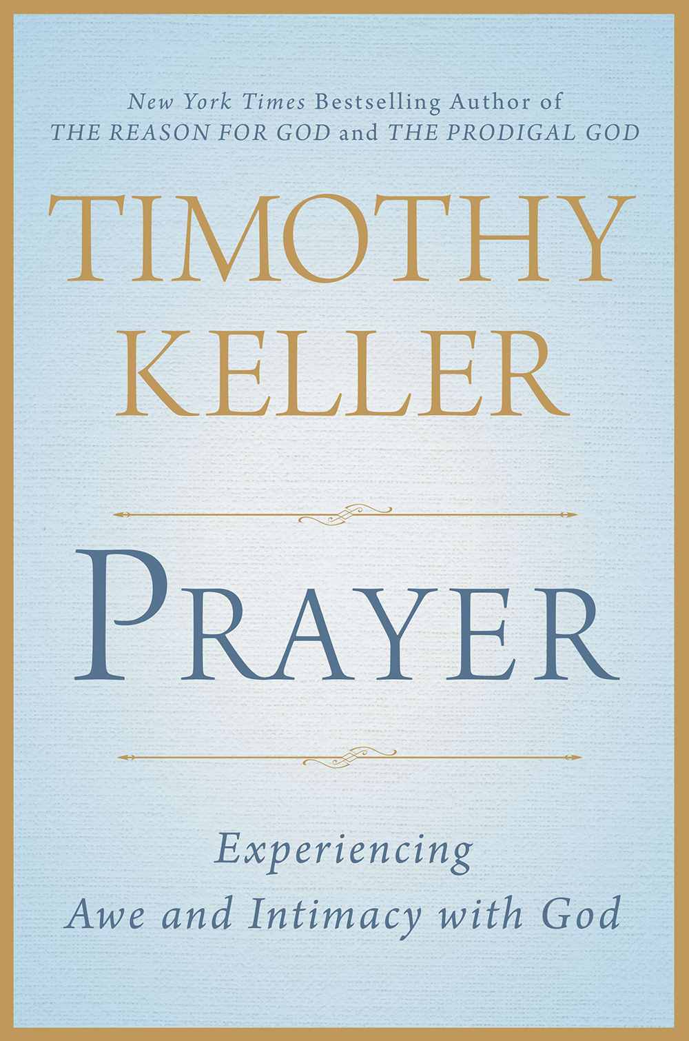 Tim keller prayer book