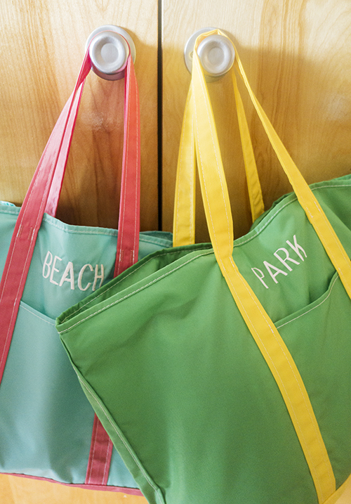 ready-to-go totes