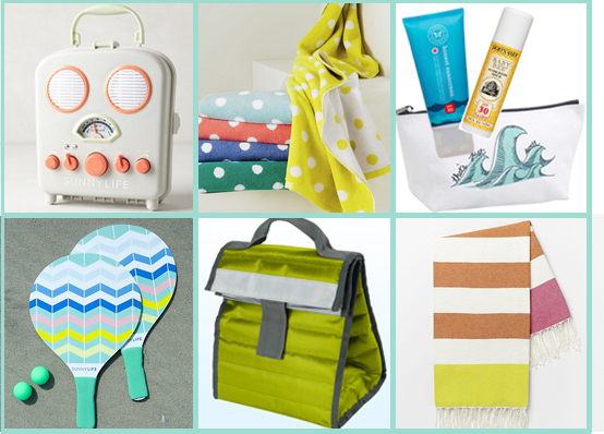 pre-packed beach day tote