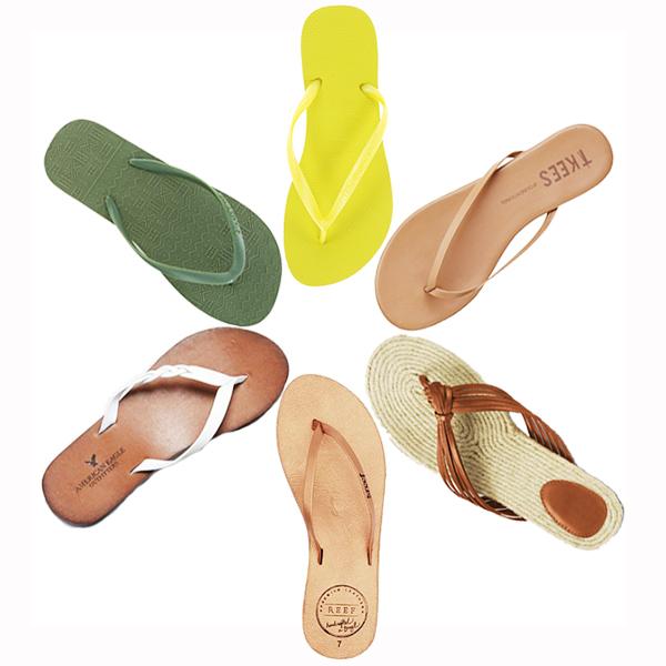 flip flops - chasing saturdays