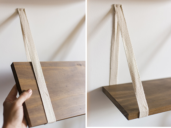 Ribbon shelf brackets — Chasing Saturdays