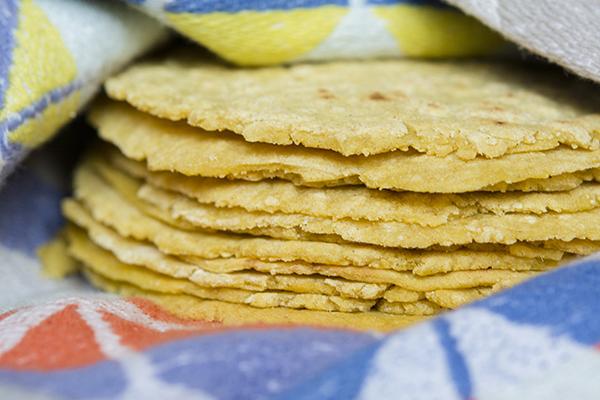 homemade corn tortillas - chasing saturdays