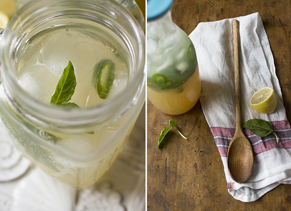 basil jalapeno lemonade cocktail - chasing saturdays
