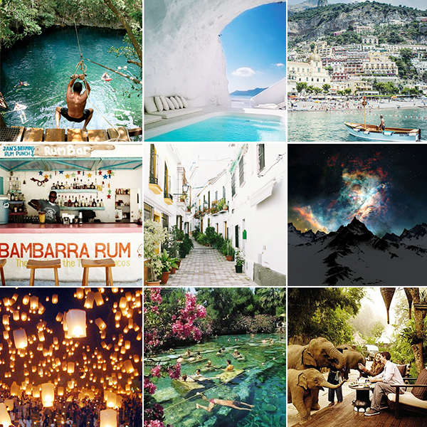 Pinterest-inspired wanderlust - chasing saturdays
